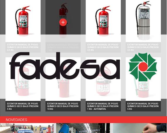 Fadesa – Web