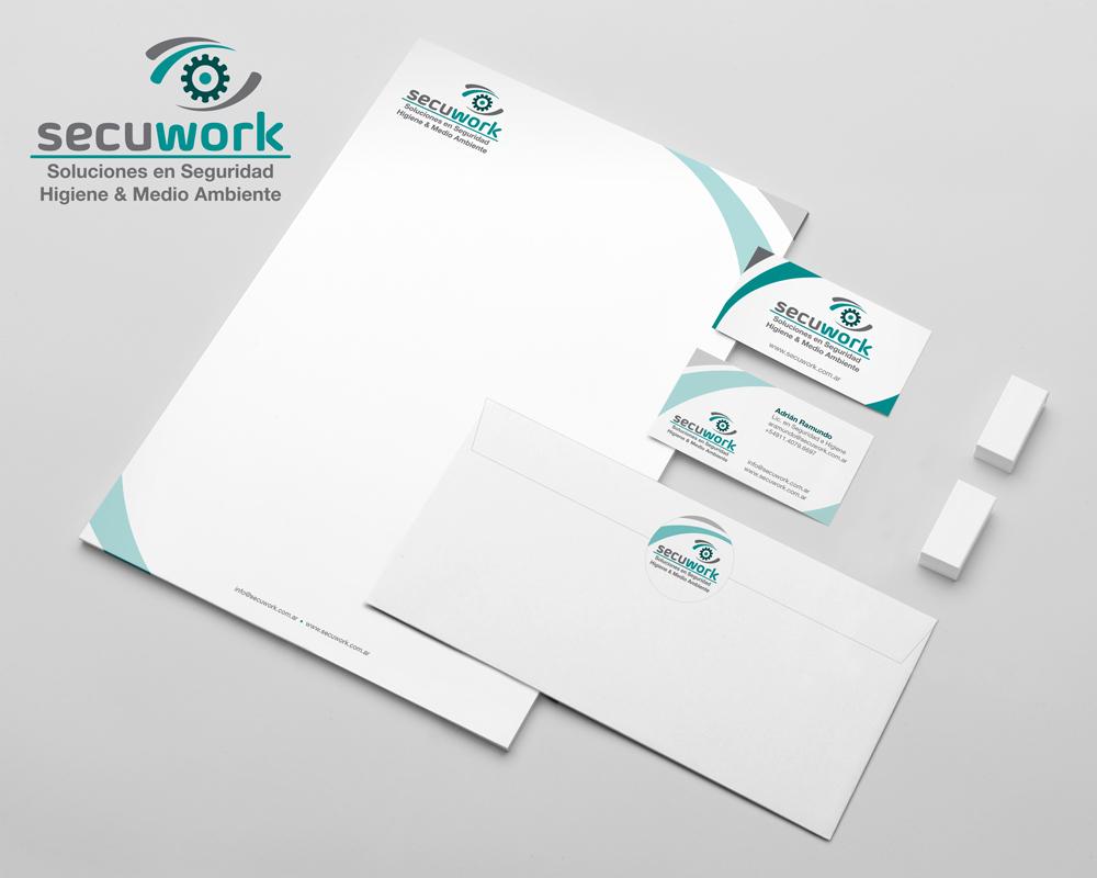 Secuwork - Diseño de isologo e identidad visual